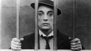 1920's silent film star, Buster Keaton